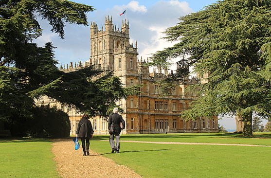 Dans l'Angleterre de Downton Abbey