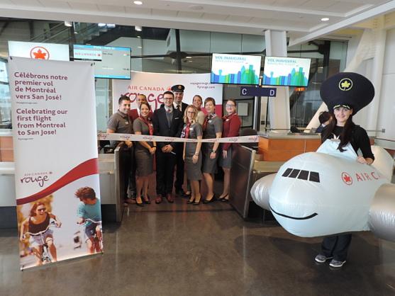 Air Canada inaugure un service bihebdomadaire sans escale entre Montréal et San José (Costa Rica)