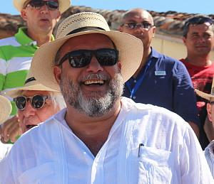 Manuel Marrero Cruz, Ministre du tourisme de Cuba.