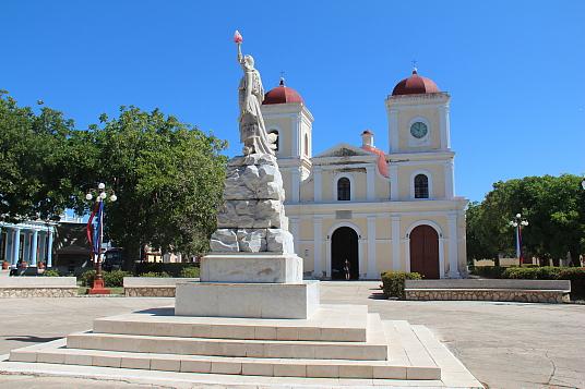La Plaza Da Silva, à Gibara