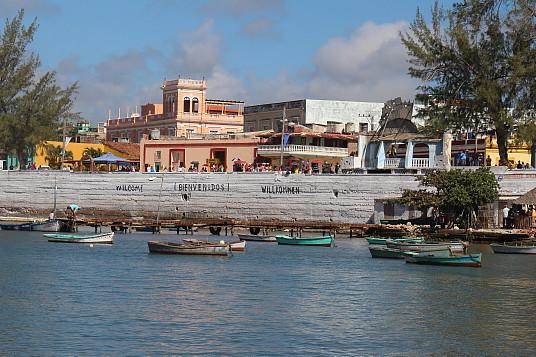 "Gibara, surnommée la ""ville blanche"""