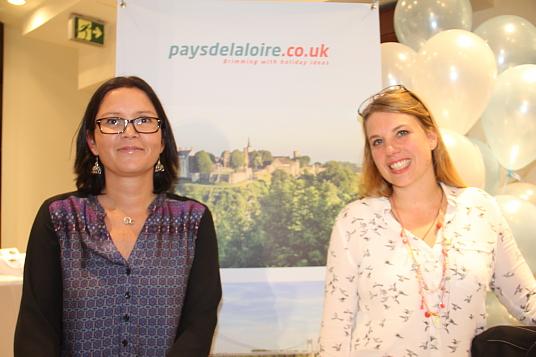 Vanessa Monfort (agence Pays de la Loire) et Ingrid Perrais (de la Baule)