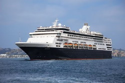 Le Veendam de la Holland America Line