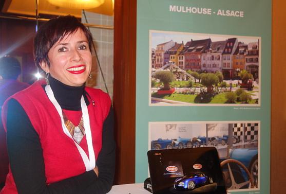 Nathalie Birling , chargée de promotion à Mulhouse Tourisme et Congrès.
