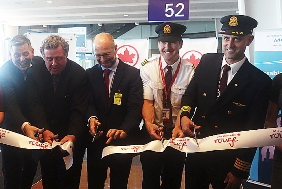 Le nouveau service Montréal-Casablanca d'Air Canada a pris son envol ! (reprise)