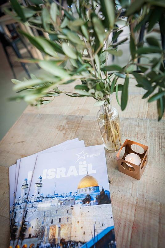 Superbe soirée : Transat présente ses vols directs de Montréal à Tel-Aviv