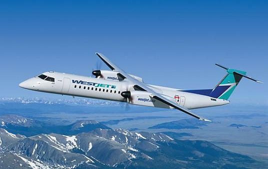 WestJet lance son premier vol intérieur au Québec