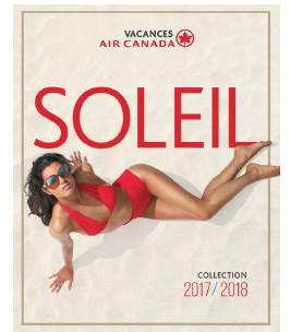 La brochure Soleil de Vacances Air Canada - Guy Marchand en entrevue