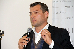 Diego Di Gaetano, directeur ventes et marketing du Gran Melia Villa Agrippina