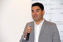 Lester Romero, directeur des ventes du Paradisus Los Cabos