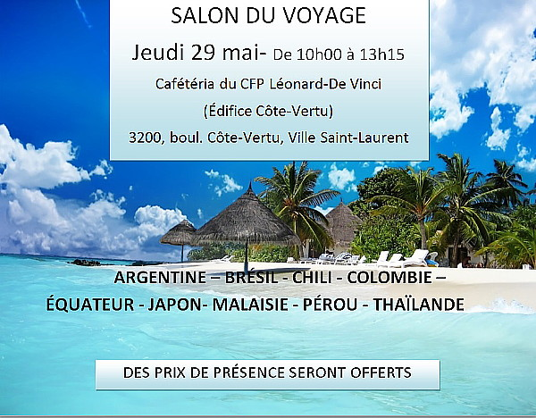 J 39 ai mon voyage md for Salon voyage