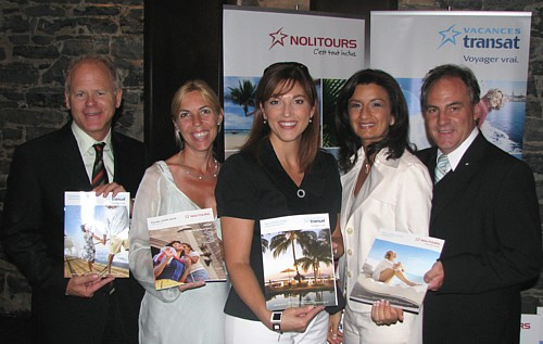 Denis Codère,  Lyne Chayer, Maryse Martel, Lydia Continelli et Guy Marchand