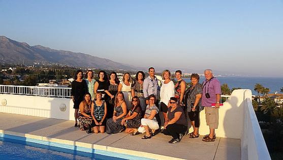 Voyage de familiarisation sur la Costa del Sol pour TDC