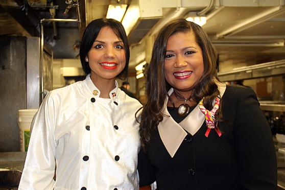 La chef dominicaine  Ines Paez Nin (