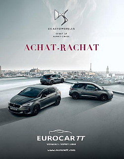 Eurocar TT : les brochures 2017 Citroën et DS Automoblies sont sorties