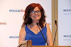 La présidente de l'APGT, Chantal Doiron