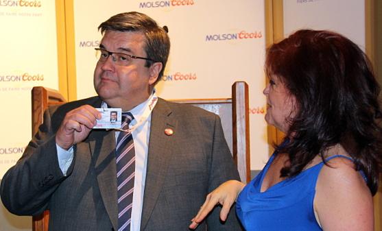 Le maire de Montréal, Denis Coderre devient membre honorifique de l'APGT