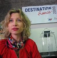 Caroline Putnoki , directrice générale de Maison de la France au Canada