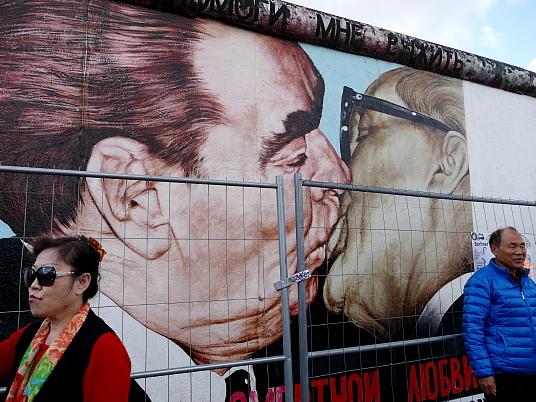 Le baiser de l'amitié...