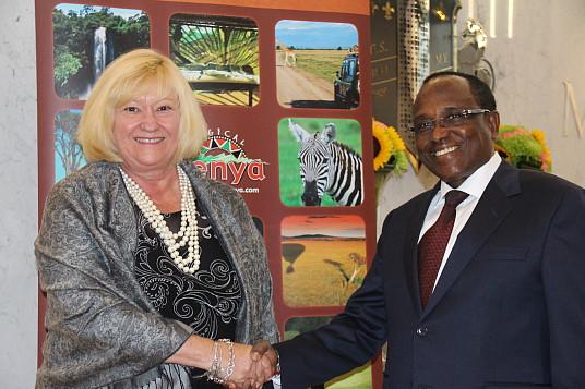 De passage à Montréal, la destination Kenya a de bonnes nouvelles