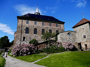 La citadelle d'Oslo