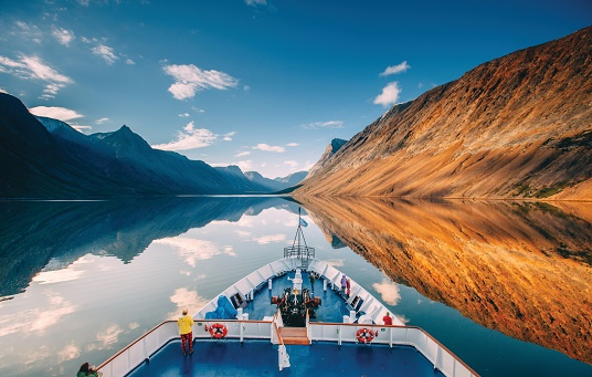 Au coeur du parc national des monts Torngat. Photo par Scott Sporleder.
