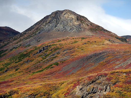 Sur la côte colorée du Labrador