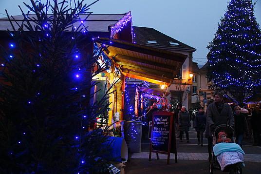 Guebwiller et son Noël Bleu