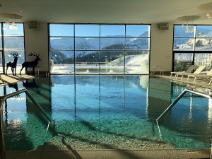 La piscine du Club Med Grand Massif Samoëns Morillon