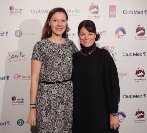 Carolyne Doyon, vice-présidente principale Canada et Mexique, à droite, et Amélie Brouhard, directrice marketing et communications pourClub Med Canada-A.Pelouas