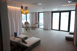 La salle de relaxation du spa au Club Med Grand Massif Samoëns Morillon