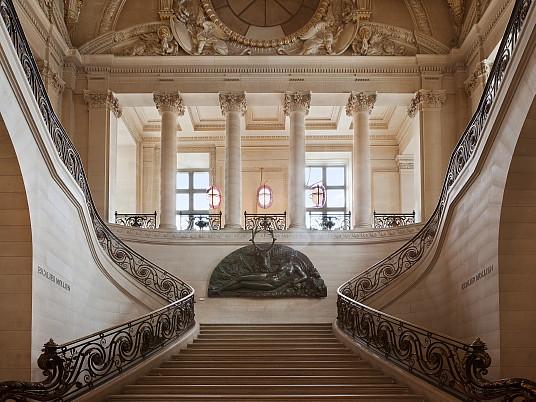 L'escalier Mollien (crédit photo Musiam)