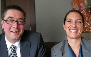 Phil Blain et Pina Guercio de Vacances Air Canada