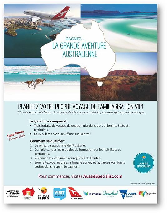 L'Australie dépasse le million de visiteurs internationaux au cours d'un seul mois