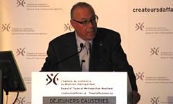 Jean-Marc Eustache président et chef de la direction de Transat A.T. inc