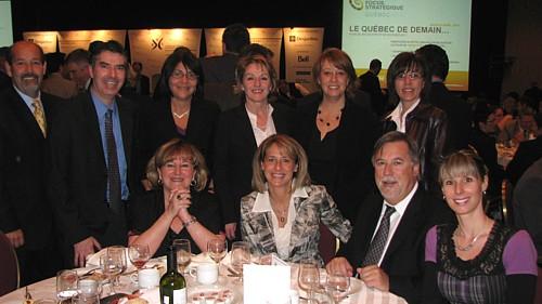 Une délégation de Transat Distribution Canada assistait à l'allocution du PDG de Transat A.T.