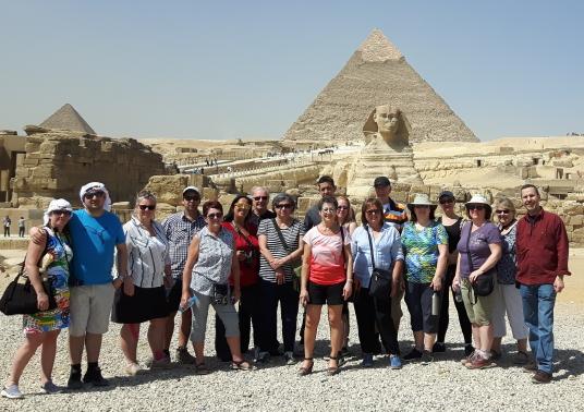 Éductour de Cure-Vac au pays des Pharaons : arrêt sur image