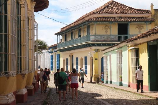La vieille ville de Trinidad est classée au Patrimoine mondial de l'Unesco.