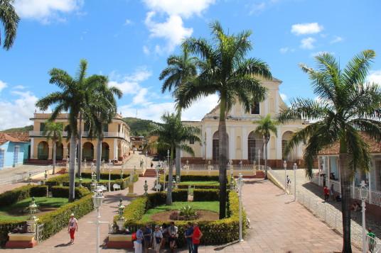 La Plaza Mayor à Trinidad
