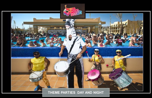 Riu Pool Party au RIU Santa Fe