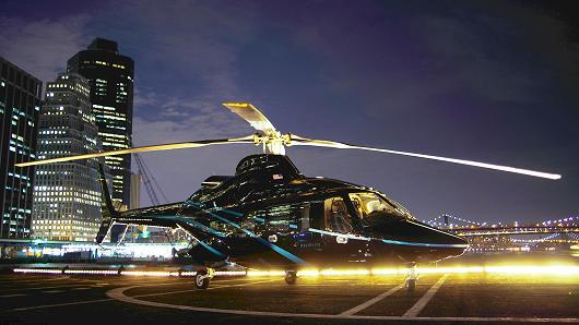 United Airlines lance un service de transferts par hélicoptère Manhattan-Newark