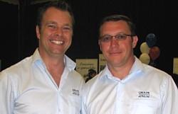 Benoit Pichette et Sylvain Lastère