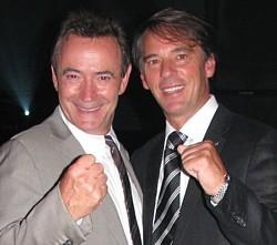 Philippe Sureau et Yves Lalumière, vice-président exploitation de Transat Distribution Canada