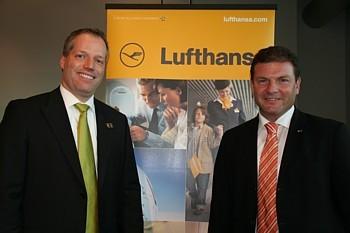 Lars Kroeplin, nouveau Directeur général pour le Canada, et Jens Bischof, Vice-président pour les Amériques.