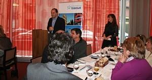MIchael DiLollo, président de Transat Tours Canada, en a profité pour remercier chaleureusement les conseillers en voyage pour leur appui.
