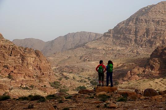 Jordan Trail, entre montagnes et vallées désertiques.