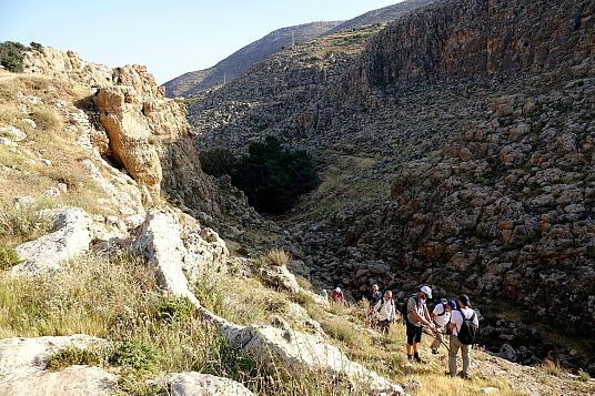 Le sentier de longue randonnée Masar Ibrahim al-Khali s'étire sur 330 kilomètres.