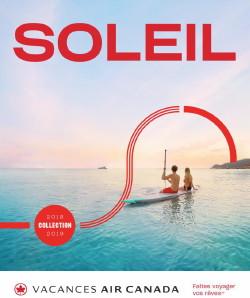 Beaucoup de monde au lancement de la Collection Soleil de Vacances Air Canada