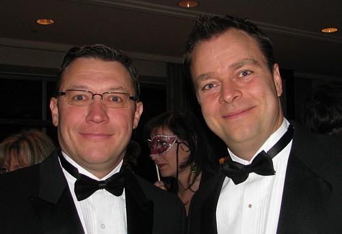 Sylvain Lastère président et Benoit Pichette v-p et directeur général du Groupe Atrium