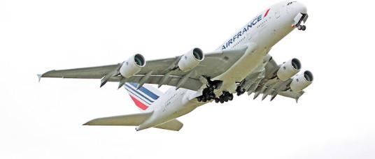 Air France va réduire de moitié sa flotte d'Airbus A380